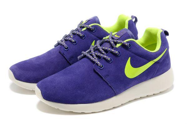 Фиолетовые беговые кроссовки Nike Roche Run
