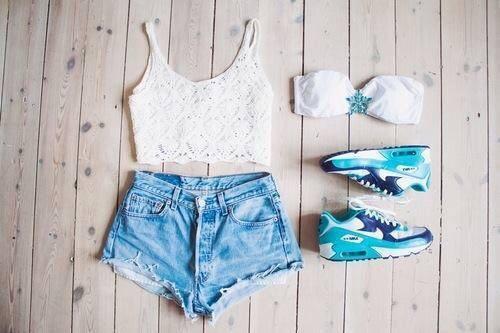 Nike Air Max можно носить с шортиками