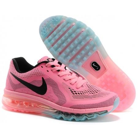 Серо-розовые кроссовки Nike Air Max