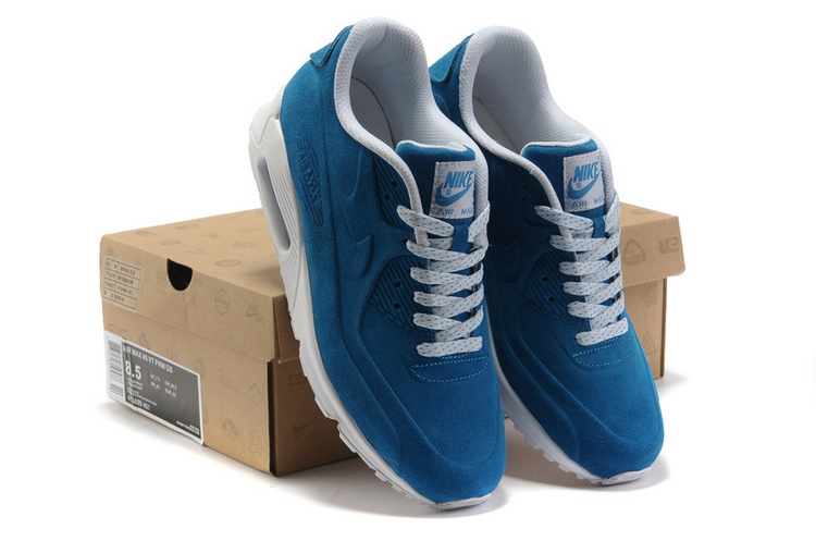 Замшевые кроссовки Nike Air Max 90 VT