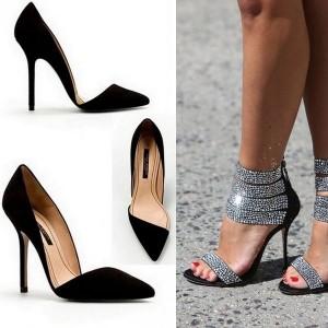 Туфли-лодочки на шпильке