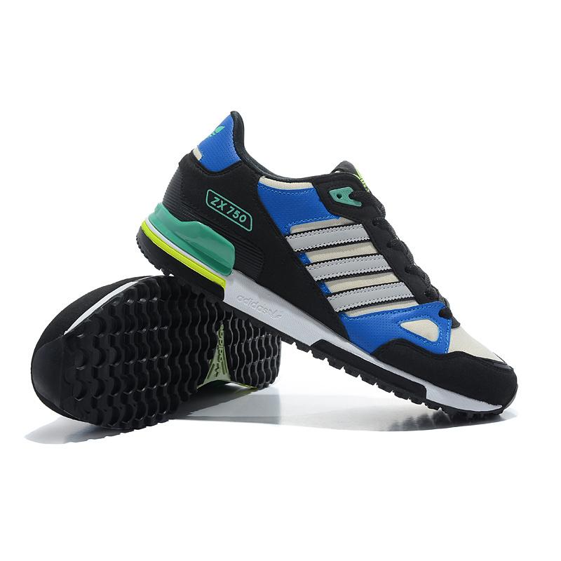 add33034 Adidas ZX 750 Men's черно-синие.