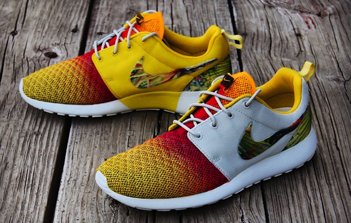 Модель Nike Roshe Run sunset