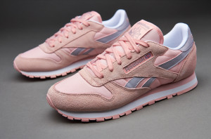 Reebok Classiс All White/Pink Woman