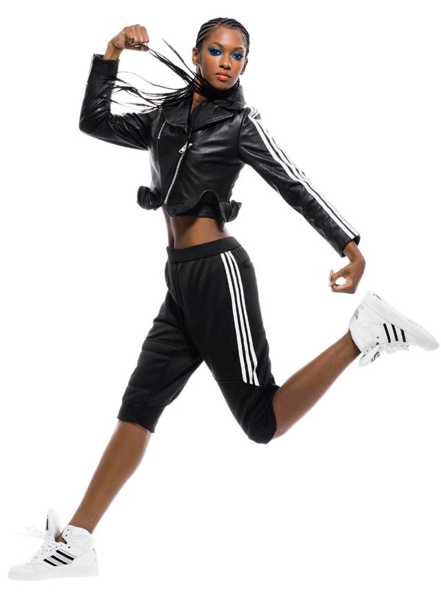Adidas кожаные