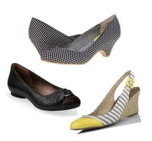 нарядные туфли на среднем каблуке