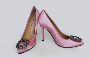 Туфли на высоком каблуке Manolo Blahnik