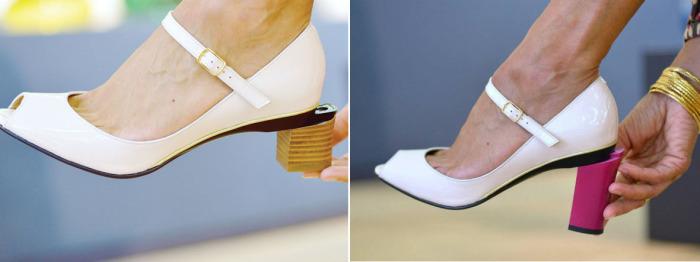 Туфли со съемным каблуком Tanya Heath