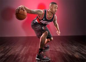 Баскетболист в Адидасе