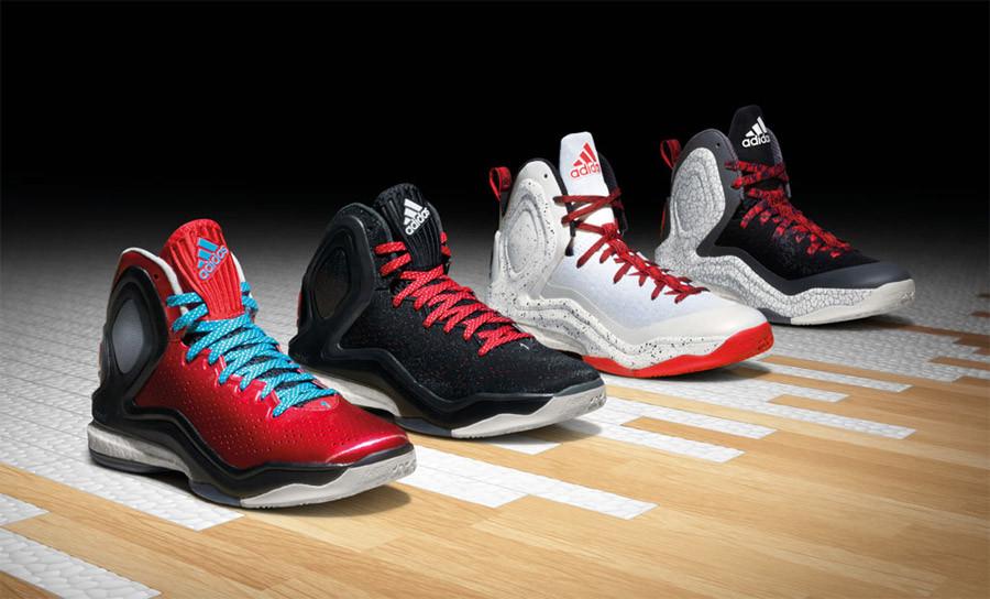 Баскетбольные кроссовки Адидас