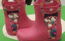 Детские резиновые саппоги Crocs