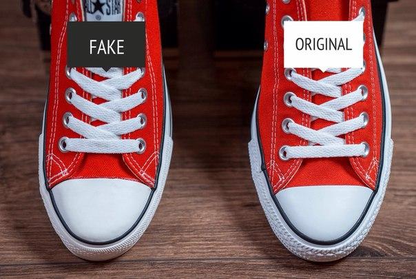 Фейковые и настоящие Converse