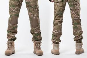 Мужчина в тактической обуви