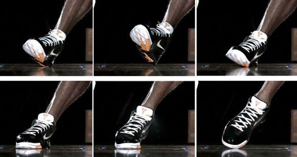 Нога баскетболиста