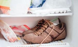 Обувь в холодильнике
