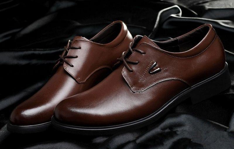 Мужские туфли-оксфорды