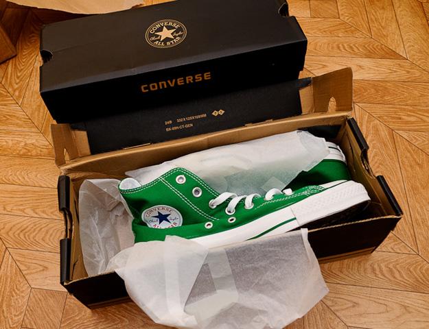 Оригинальная упаковка Converse