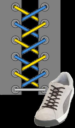 Витринная шнуровка