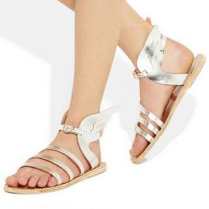женские сандалии с открытым носком