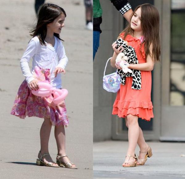 девочки в туфельках
